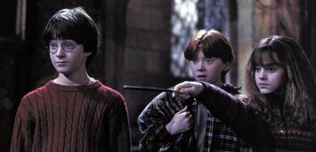 Bild zu:  Harry, Ron & Hermine vor 16 Jahren.