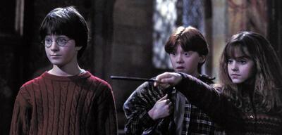Harry, Ron & Hermine vor 16 Jahren.