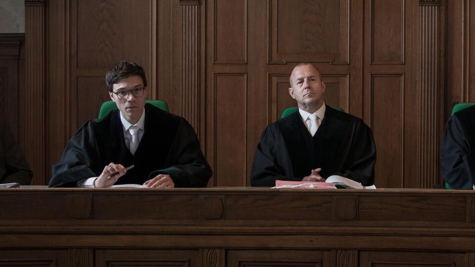 Der Richter mit Heino Ferch und Sebastian Urzendowsky