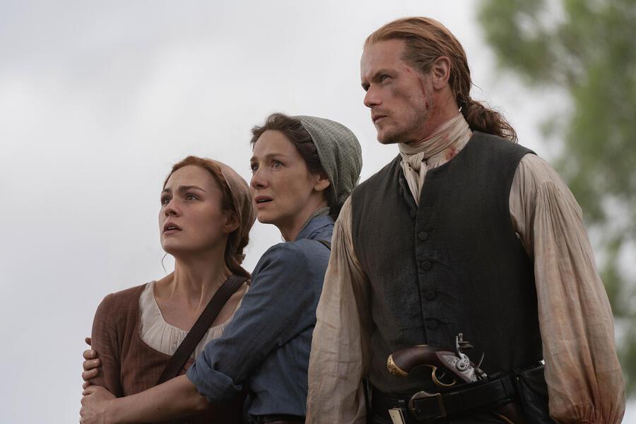 Outlander - Staffel 5 mit Sam Heughan, Caitriona Balfe und Sophie Skelton