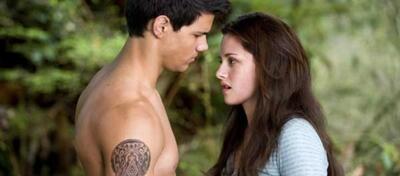 Furchtbares Pärchen: Tylor Lautner und Kristen Stewart in New Moon