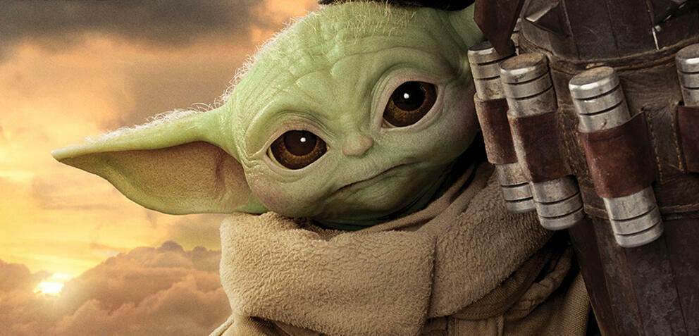 Baby Yoda oder Grogu in The Mandalorian
