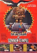 Tim und Struppi im Sonnentempel - Poster