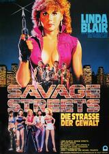 Savage Streets - Die Straße der Gewalt - Poster