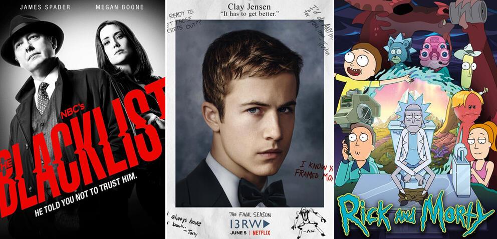 Serien und Staffeln im Juni 2020