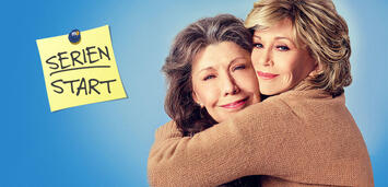 Bild zu:  Grace and Frankie, Staffel 3