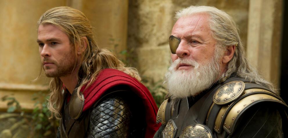 Baff. Thor und Odin in Thor 2