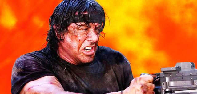 Sylvester Stallone als Rambo