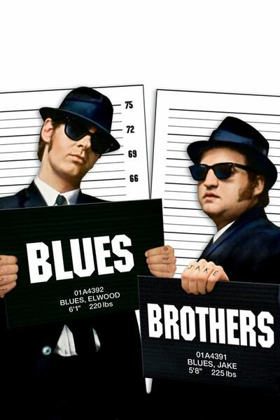 Blues Brothers mit Dan Aykroyd und John Belushi