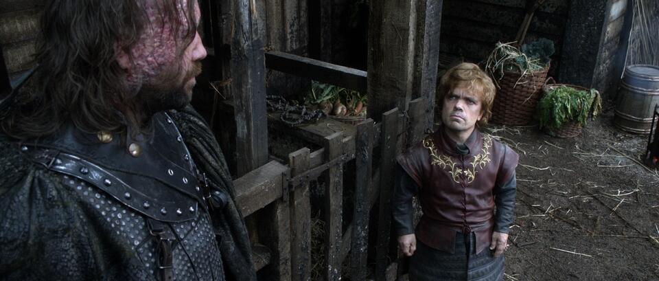 Game of Thrones - Staffel 1 mit Peter Dinklage und Rory McCann
