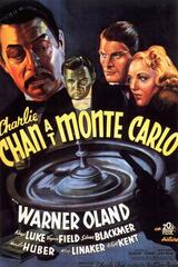 Charlie Chan in Monte Carlo - Poster