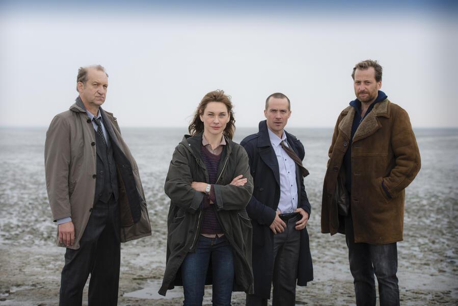 Ostfriesenkiller mit Christiane Paul, Peter Heinrich Brix, Barnaby Metschurat und Christian Erdmann