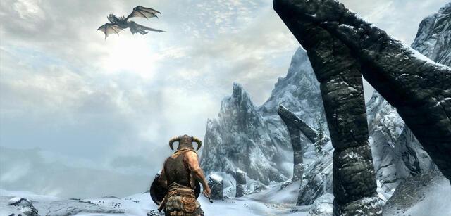 Szene aus The Elder Scrolls V: Skyrim
