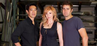 MythBusters, mit Grant Imahara, Kari Byron & Tory Belleci
