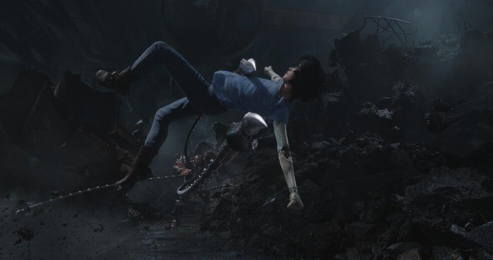 Alita: Battle Angel mit Rosa Salazar