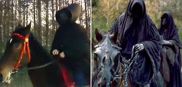 Der Herr der Ringe im Vergleich: Schwarze Reiter