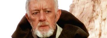Alec Guiness als Obi-Wan Kenobi in Star Wars: Episode 4