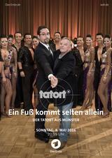 Tatort: Ein Fuß kommt selten allein - Poster