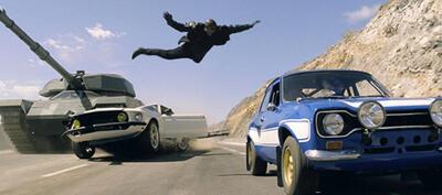 Eine Actionszene aus Fast & Furious 6