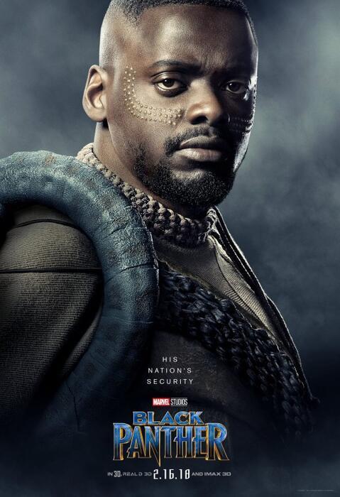 Black Panther mit Daniel Kaluuya