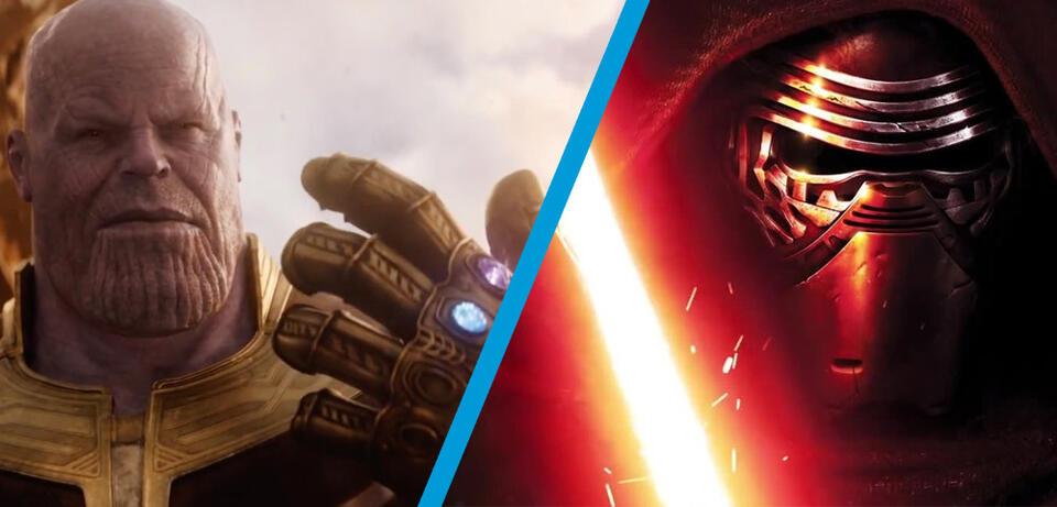 Avengers und Star Wars im Großformat