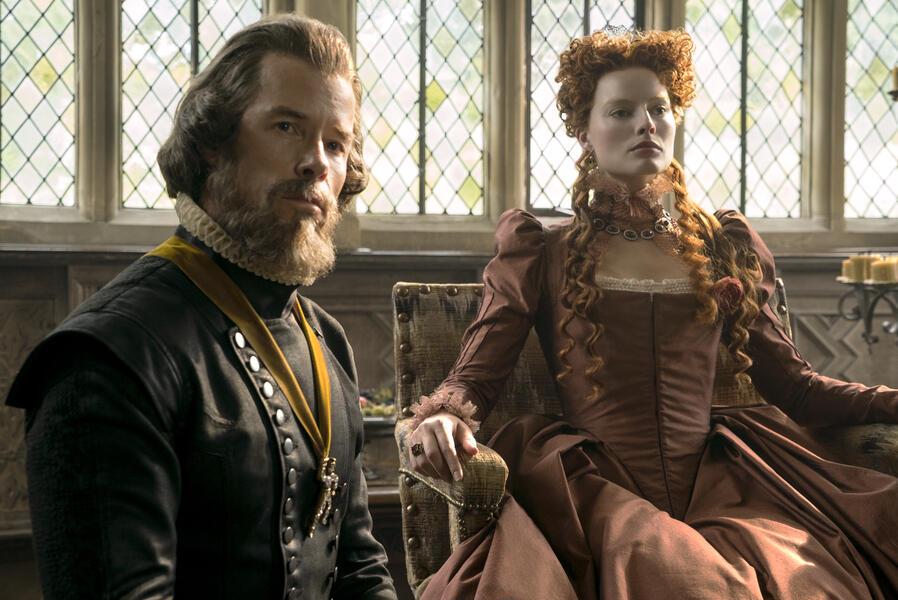 Maria Stuart, Königin von Schottland  mit Margot Robbie und Guy Pearce