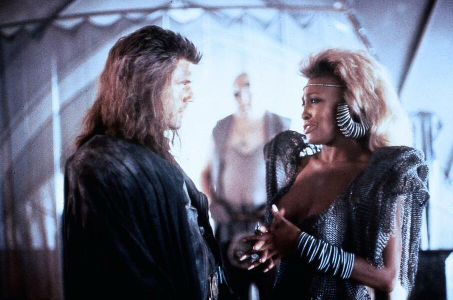 Mad Max III - Jenseits der Donnerkuppel mit Mel Gibson und Tina Turner