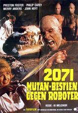 2071: Mutan-Bestien gegen Roboter