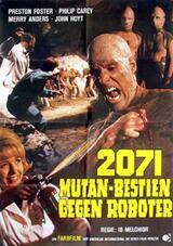 2071: Mutan-Bestien gegen Roboter - Poster