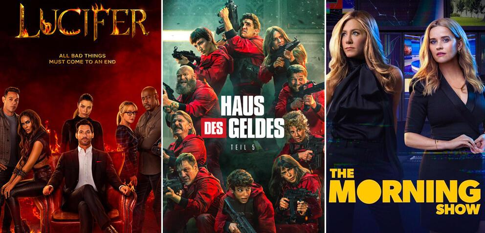 Serien und Staffeln im September 2021