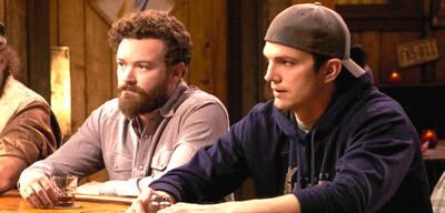 Danny Masterson und Ashton Kutcher in The Ranch
