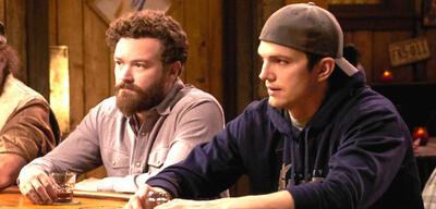 Danny Masterson und Ashton Kutcher in The Ranch