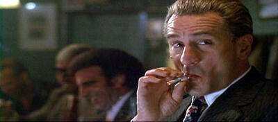 Robert De Niro als Jimmy in Goodfellas