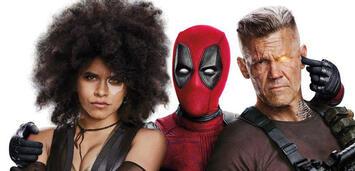 Bild zu:  Deadpool 2 mit Zazie Beetz, Ryan Reynolds und Josh Brolin