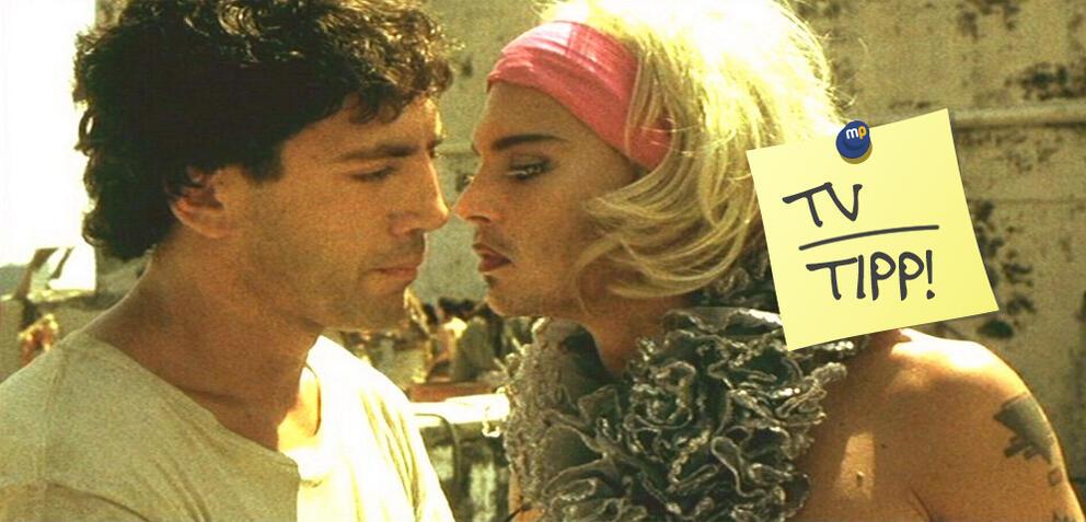 Javier Bardem und Johnny Depp in Before Night Falls von Julian Schnabel