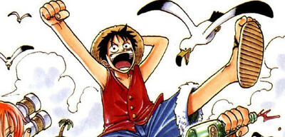 One Piece - erstes Manga-Cover