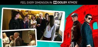 Unsere Gewinner bei Dolby in London.