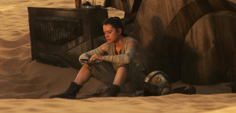 Star Wars 7 - Reys Instant-Brot entstand nicht am Computer