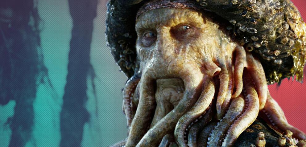 Bill Nighy als Davy Jones in Fluch der Karibik 2