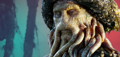 Bill Nighy als Davy Jones in Fluch der Karibik 2