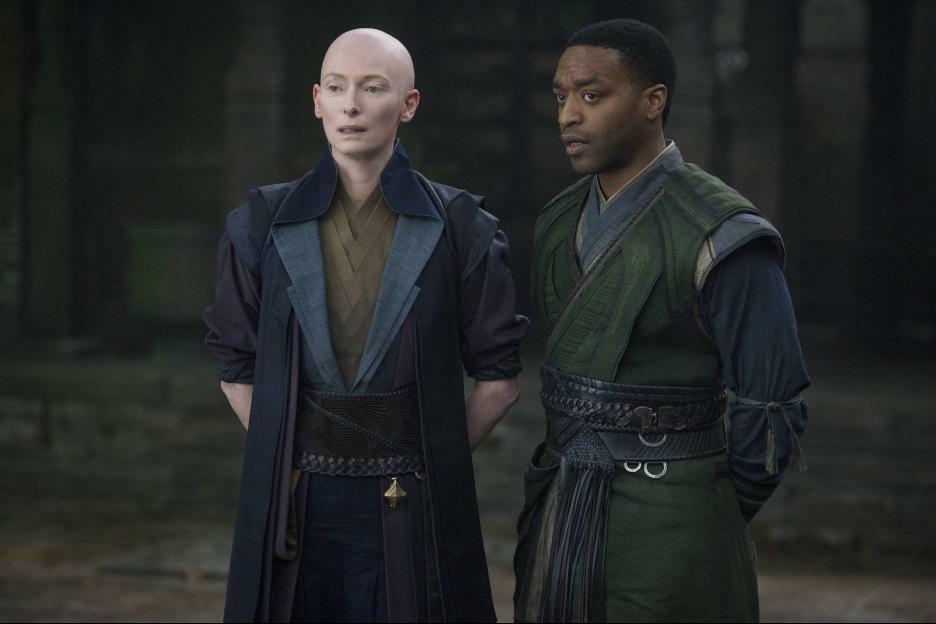 Doctor Strange mit Tilda Swinton und Chiwetel Ejiofor
