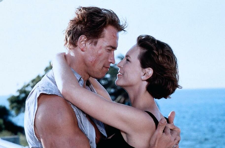 True Lies - Wahre Lügen mit Arnold Schwarzenegger und Jamie Lee Curtis