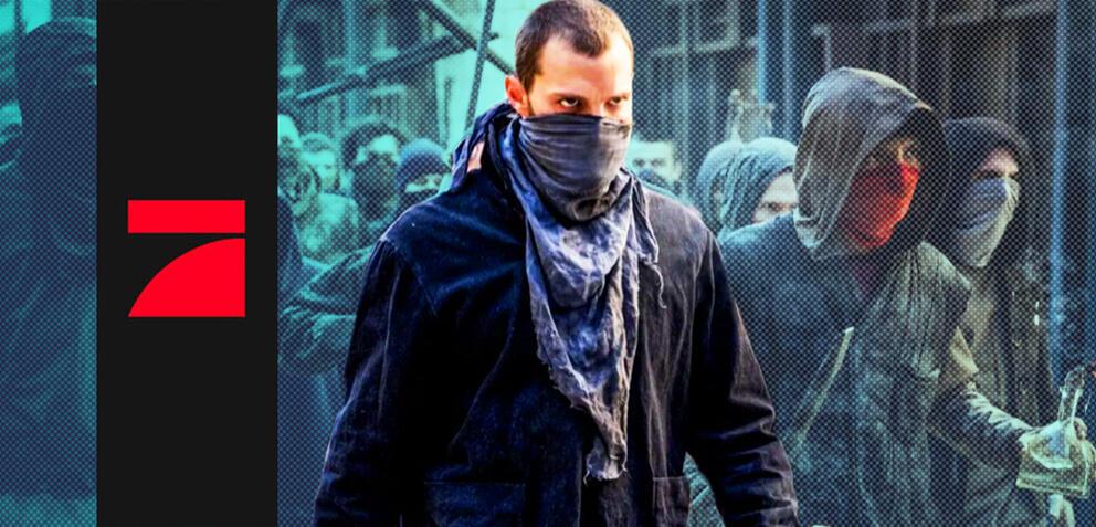 Jamie Dornan in Robin Hood