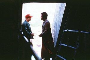 Unbreakable - Unzerbrechlich mit Bruce Willis und Samuel L. Jackson