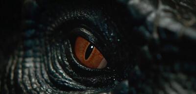 Ein Indoraptor-Äuglein inJurassic World 2: Das gefallene Königreich