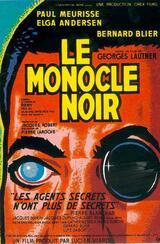 Das schwarze Monokel - Poster