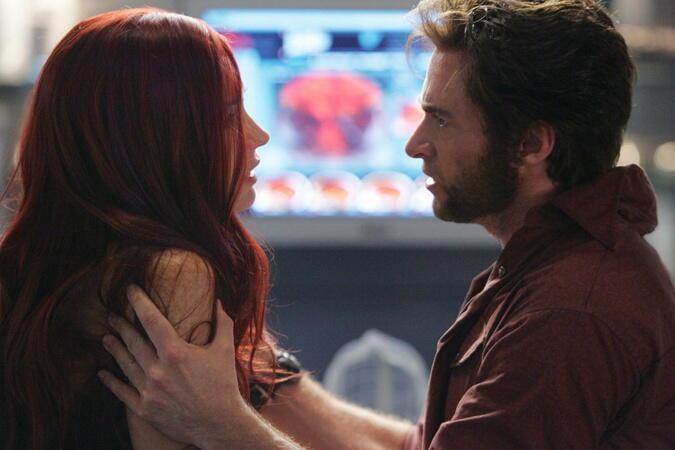 X-Men: Der letzte Widerstand mit Hugh Jackman und Famke Janssen