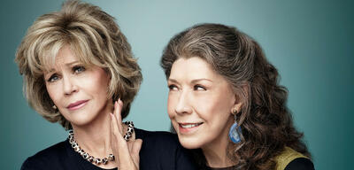 Jane Fonda und Lily Tomlin in Grace and Frankie