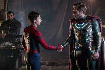 Peter Parker und Mysterio in Far From Home