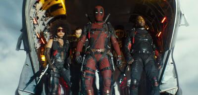 Deadpool und die X-Force in Deadpool 2